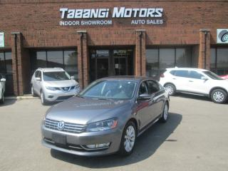 Used 2013 Volkswagen Passat TDI | NO ACCIDENTS | HIGHLINE | LEATHER | SUNROOF | BT for sale in Mississauga, ON