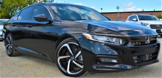 Used 2018 Honda Accord Sport|HONDA SENSING|HEATED SEATS|SUNROOF|APPLE CARPLAY for sale in Brampton, ON