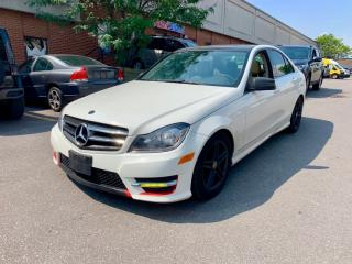 Used 2012 Mercedes-Benz C-Class 4dr Sdn 2.5L 4MATIC for sale in North York, ON