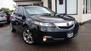 Used 2012 Acura TL ELITE SH-AWD - NAVIGATION! BACK-UP CAM! BSM! for sale in Kitchener, ON