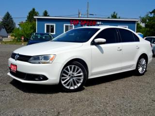 Used 2013 Volkswagen Jetta Highline TDI DSH Navigation Back-Up Cam Roof Leather Certified for sale in Guelph, ON