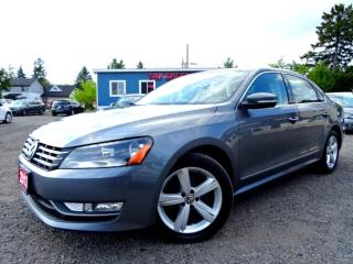 Used 2013 Volkswagen Passat Comfrtline TDI DSG Navigation Leather Roof Bluetooth Certified for sale in Guelph, ON