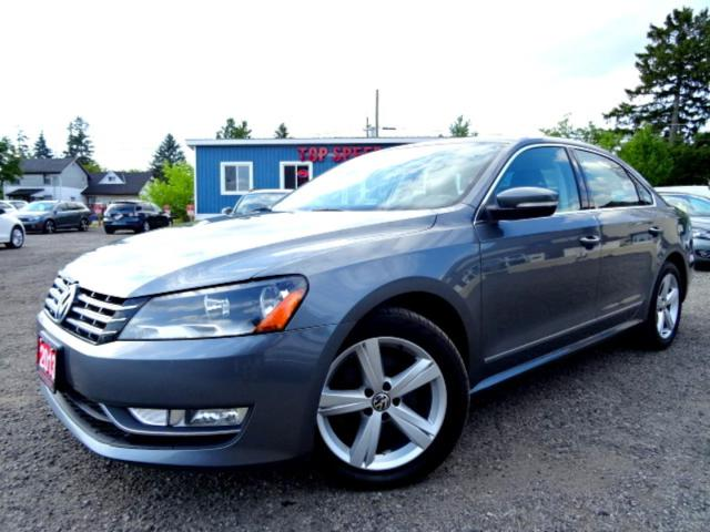 2013 Volkswagen Passat Comfrtline TDI DSG Navigation Leather Roof Bluetooth Certified