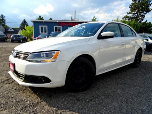 2014 Volkswagen Jetta Highline TDI DSG Navi Back-Up Cam Roof Certified