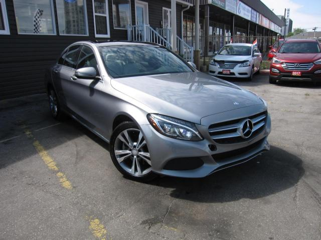 2016 Mercedes-Benz C-Class C300 4MATIC Sedan, FULLY LOADED, NAVIGATION. BACK UP CAMERA, MOON ROOF, LEATHER INTERIOR