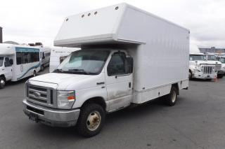 Used 2011 Ford Econoline E-350 Super Duty 14 Ft Cube Van With Rear Shelving Dual Fuel (Propane and Gas) for sale in Burnaby, BC