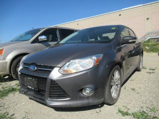 Used 2012 Ford Focus SEL, SUNROOF, HEATED SEATS for sale in Brampton, ON