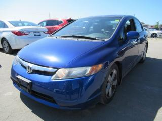 Used 2007 Honda Civic LX, HEAT/AC for sale in Brampton, ON