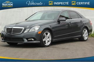Used 2011 Mercedes-Benz E-Class 4DR SDN E 350 4MATIC for sale in Ste-Rose, QC
