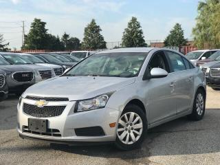 Used 2011 Chevrolet Cruze LT Turbo Snow Tires|Remote Strt|LOW KM| for sale in Mississauga, ON