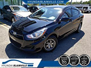 Used 2013 Hyundai Accent GL DÉMAR DISTANCE,BANCS CHAUF+ for sale in Blainville, QC