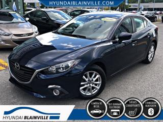 Used 2016 Mazda MAZDA3 GS DÉMAR DISTANCE,TOIT+ for sale in Blainville, QC