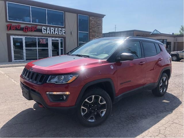 2018 Jeep Compass Trailhawk | Panoroof| Leather | 4WD