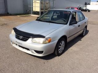 Used 2001 Toyota Corolla 4DR SDN CE AUTO for sale in Quebec, QC