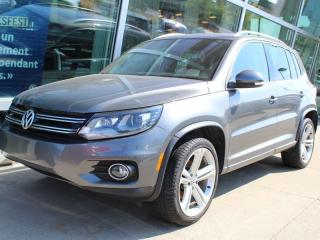 Used 2016 Volkswagen Tiguan R-LINE, TOUTES LES OPTIONS, MAGS, CAM RECUL, BLUET for sale in Lasalle, QC