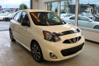 Used 2015 Nissan Micra SR AUTOMATIQUE CAMÉ MAIN LIBRE for sale in Lévis, QC