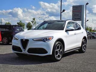 Used 2018 Alfa Romeo Stelvio SPORT AWD *CUIR*TOIT*GPS*HARMAN CARDON* for sale in Brossard, QC