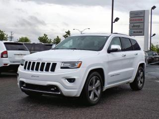 Used 2015 Jeep Grand Cherokee OVERLAND * FREINS NEUFS * V8 HEMI * for sale in Brossard, QC