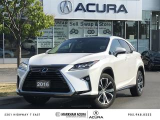 Used 2016 Lexus RX 350 8A Executive Pkg- Head-Up Disp, Rano Roof, Wireless Charger for sale in Markham, ON