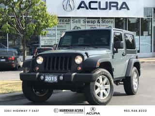 Used 2015 Jeep Wrangler SPORT for sale in Markham, ON