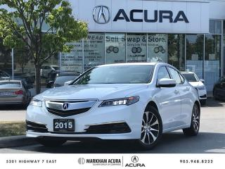 Used 2015 Acura TLX 2.4L P-AWS w/Tech Pkg Navi, Backup Cam, Blind Spot Info for sale in Markham, ON