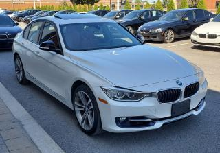 Used 2015 BMW 328 WHITE ON RED SPORT LINE for sale in Dorval, QC