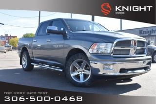 Used 2012 RAM 1500 SLT | Bluetooth | Remote Start | for sale in Swift Current, SK