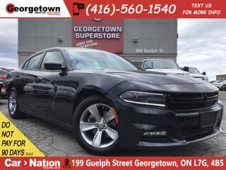 Used 2016 Dodge Charger SXT | PUSH START|POWER GRP|HTD SEATS|BLUTOOTH for sale in Georgetown, ON