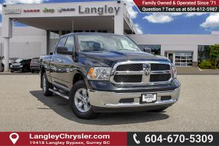 Used 2017 RAM 1500 SLT *8.4 SCREEN* *BENCH SEATS* for sale in Surrey, BC
