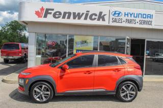 Used 2018 Hyundai KONA 1.6T AWD Ultimate for sale in Sarnia, ON