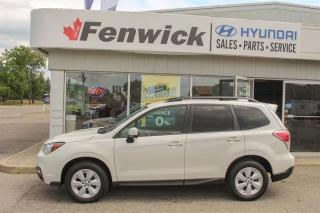 Used 2017 Subaru Forester 2.5i Convenience CVT for sale in Sarnia, ON