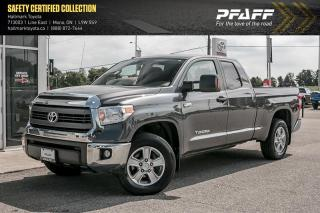 Used 2015 Toyota Tundra 4x4 Dbl Cab SR 5.7 6A for sale in Orangeville, ON