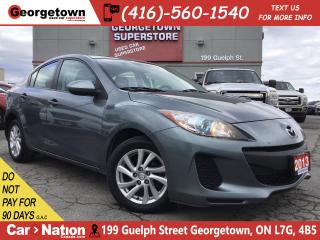 Used 2013 Mazda MAZDA3 GS-SKY | ALLOYS | SUNROOF | HTD SEATS | PWR GRP for sale in Georgetown, ON