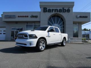 Used 2018 RAM 1500 SPORT CREW CAB SIÈGES ET VOLANT CHAUFFAN for sale in Napierville, QC