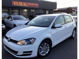 Used 2015 Volkswagen Golf Trendline-AUTOMATIQUE-BLUETOOTH-SIEGES CHAUFFANTS for sale in Laval, QC