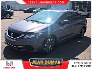 Used 2015 Honda Civic 4 portes boîte manuelle EX for sale in St-Félicien, QC