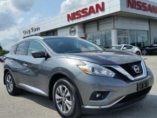 Used 2016 Nissan Murano SL AWD w/all leather,NAV,panoramic roof,rear cam,climate control for sale in Cambridge, ON