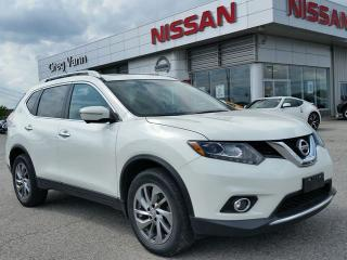 Used 2015 Nissan Rogue SL AWD w/all leather,NAV,panoramic roof,rear cam,climate control, for sale in Cambridge, ON