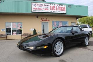 Used 1992 Chevrolet Corvette AS-IS for sale in Bolton, ON