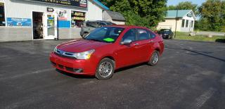 Used 2011 Ford Focus 139k safetied we finance SE for sale in Madoc, ON