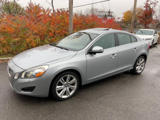 Used 2013 Volvo S60 T6 AWD for sale in St-Eustache, QC