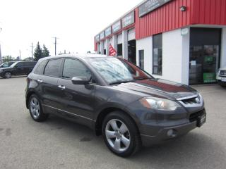 Used 2009 Acura RDX $8,795 + HST + LIC FEE / CERTIFIED / NAVIGATION / TECH PACKAGE for sale in North York, ON