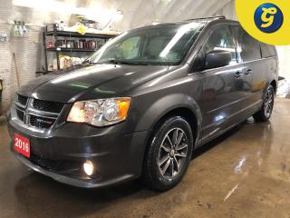 Used 2016 Dodge Grand Caravan Premium Plus * Stow N Go * Navigation * 2nd row 9 inch DVD player * Back up camera * 6 Speed automatic * Electronic stability control * Tire pressure for sale in Cambridge, ON