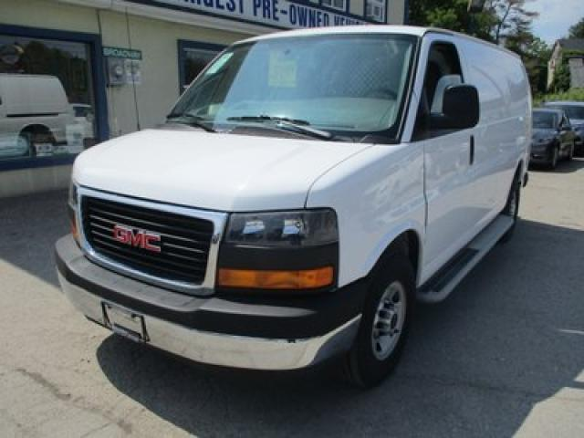 2017 GMC Savana 3/4 TON CARGO MOVING 2 PASSENGER 4.8L - VORTEC.. SHORTY.. SLIDING MIDDLE DOOR.. TOW SUPPORT.. AIR CONDITIONING.. AUX INPUT..