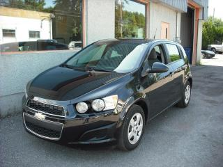 Used 2013 Chevrolet Sonic 5 portes à hayon LS à b. man. for sale in Repentigny, QC