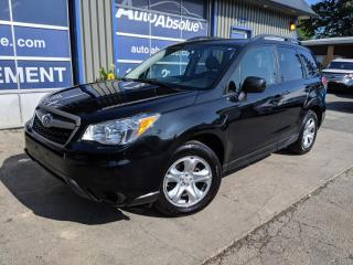 Used 2015 Subaru Forester Manuelle + impeccable + awd for sale in Boisbriand, QC