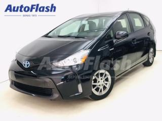 Used 2015 Toyota Prius V Luxury-Pkg Hybrid/Electric *GPS/Camera *Cuir* for sale in St-Hubert, QC