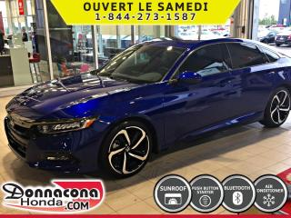 Used 2019 Honda Accord Sport *SPÉCIALE DEMONSTRATEUR* for sale in Donnacona, QC