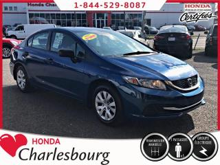 Used 2014 Honda Civic CIVIC DX**UN PROPRIÉTAIRE** for sale in Charlesbourg, QC