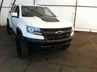 Used 2018 Chevrolet Colorado ZR2 OFF ROAD WITH BLACK FUEL ALUMINUM WHEELS, LEATHER HEATED SEATS, REVERSE CAMERA for sale in Ottawa, ON